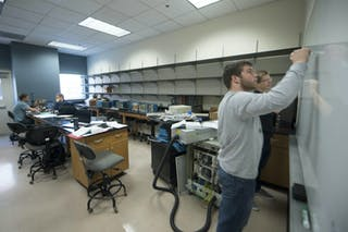 Student-faculty Team Studying the Impact of New Refrigerants on the Atmosphere