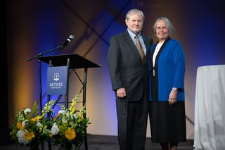 Jay and Barb Barnes Honored at Presidential Retirement Celebration