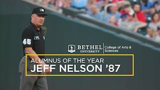 MLB Umpire Jeff Nelson '87 Named CAS Alumnus of the Year