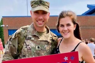 Following a Call to Serve His Country and His Students
