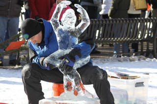 5 Things to Know About Jim Zupfer '91 and His Ice Sculptures