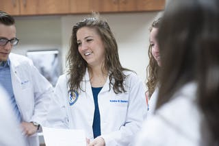 Physician Assistant students.