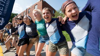 Bethel students ready for Welcome Week 2017.