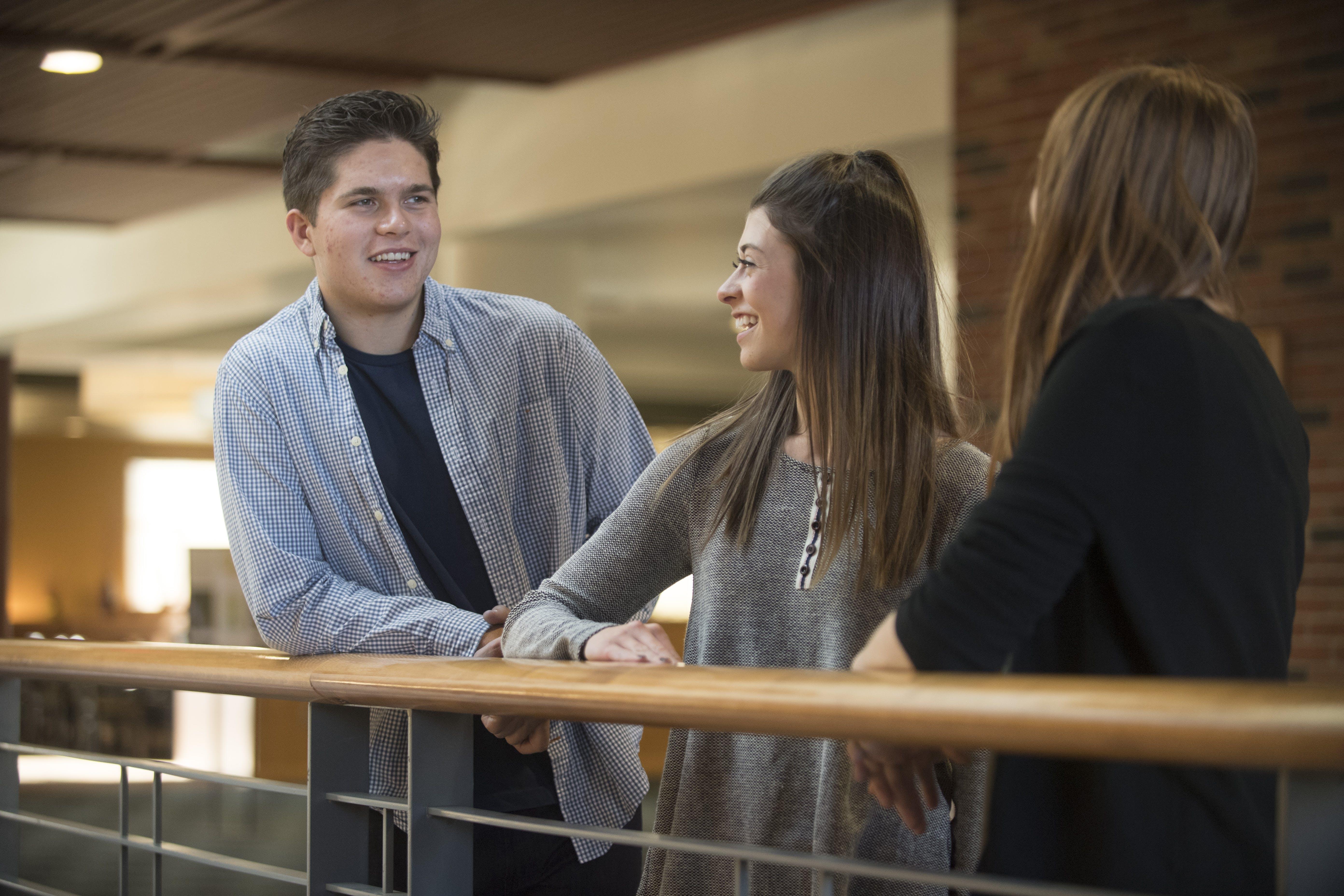 Students in undergrad academic affairs.