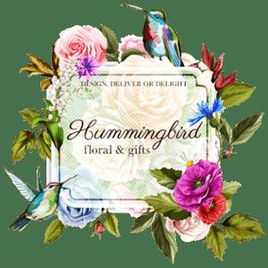 Hummingbird Floral logo
