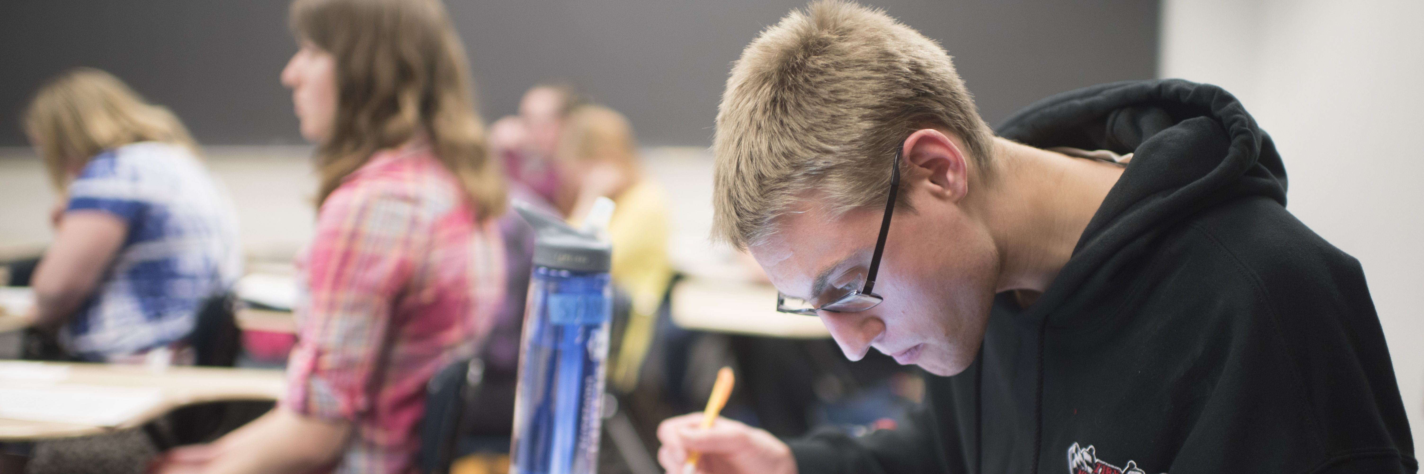 BUILD students learn in class