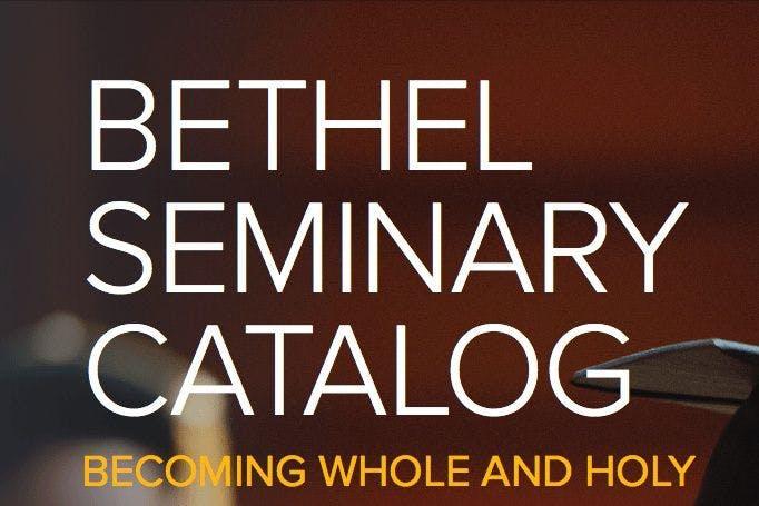 Seminary catalog