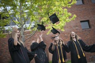 Graduation Cap Toss