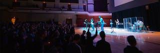 Worship music at Bethel University Vespers.