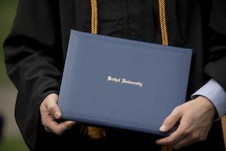 Diploma display