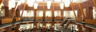 See a view of the Monson Dining Center.