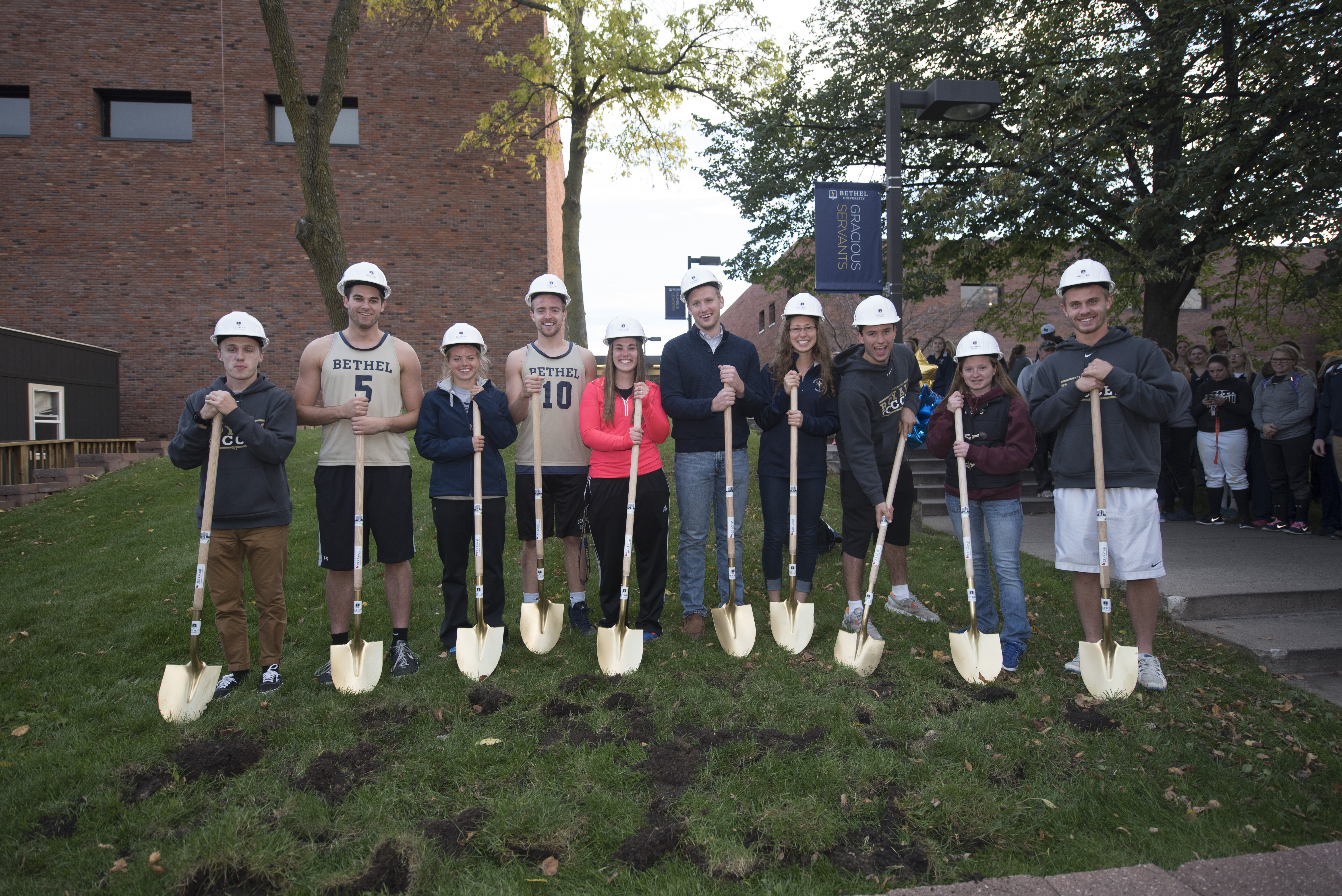 Groundbreaking for the new Wellness Center at Bethel