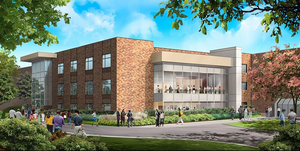 Rendition of the Bethel Wellness Center