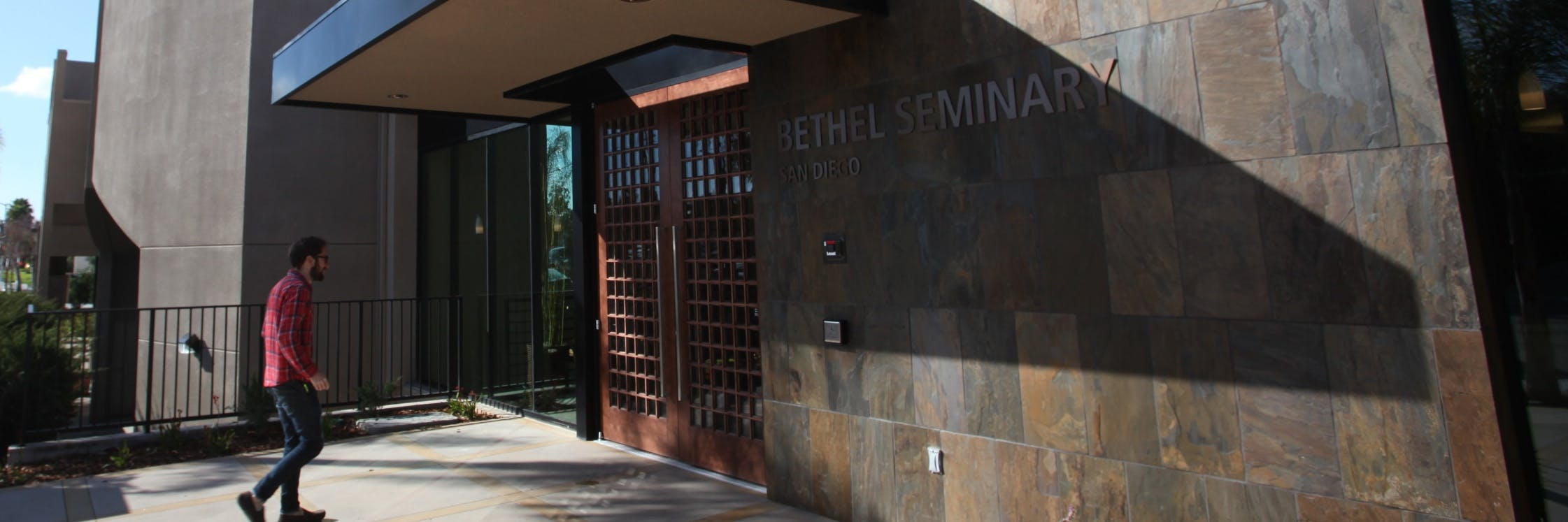 Seminary building in San Diego