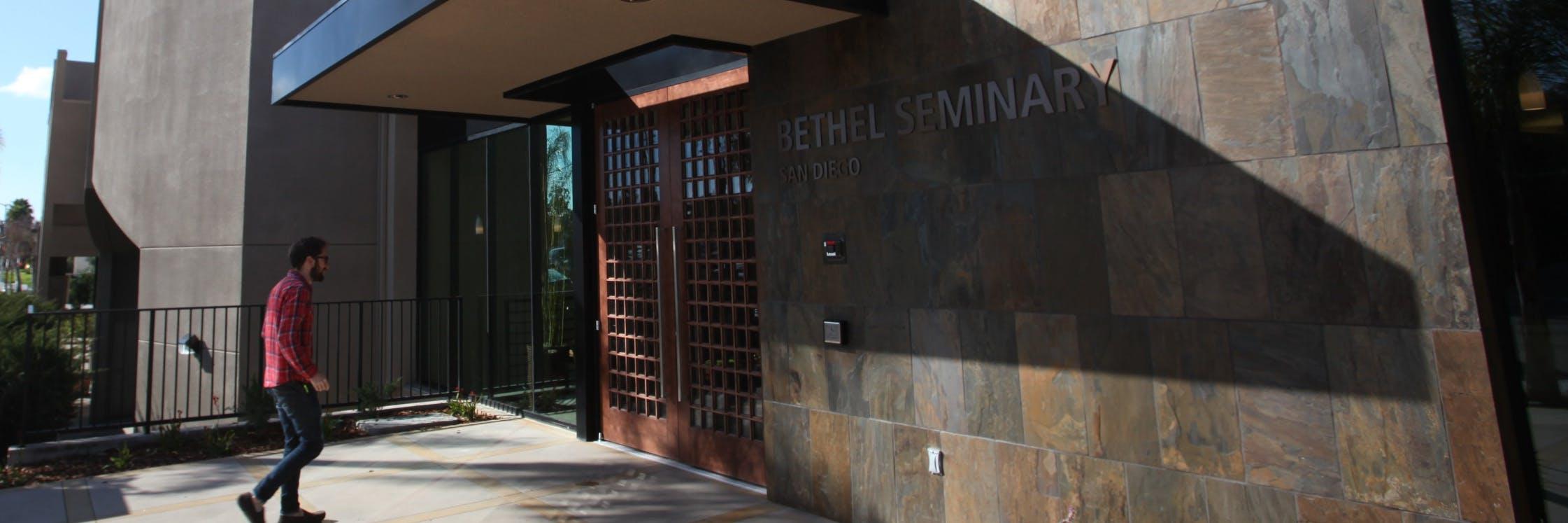 Seminary building in San Diego