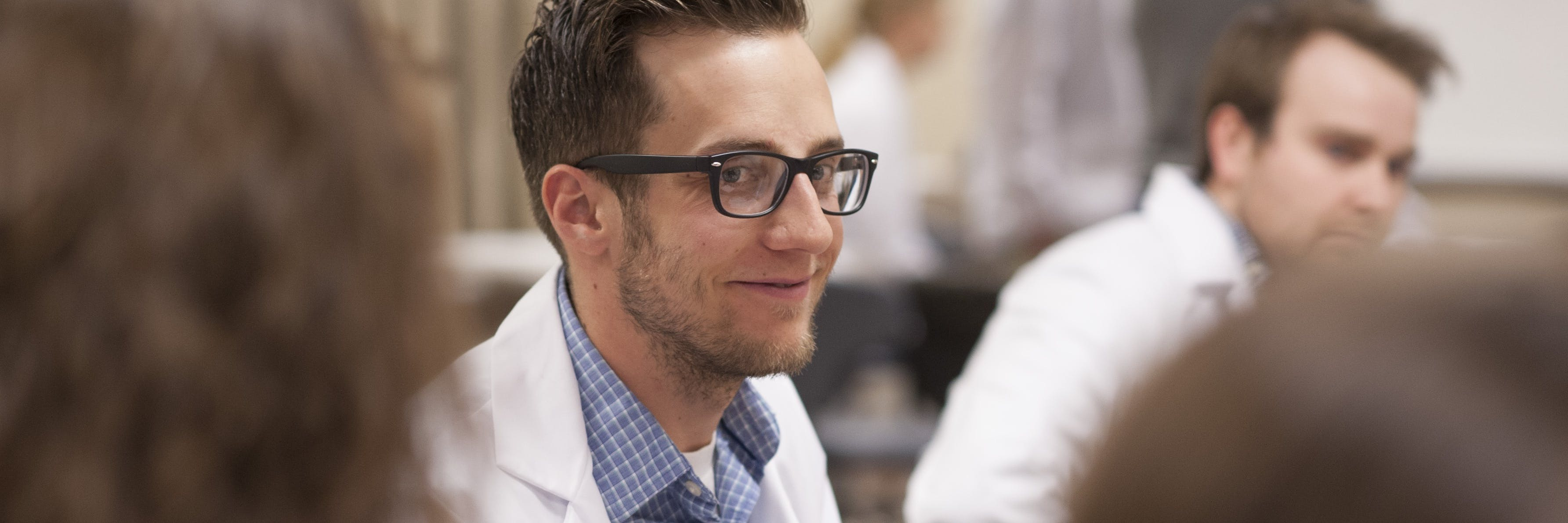 Physician Assistant student smiling