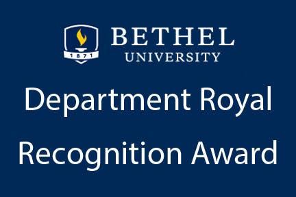 Department Royal Recognition