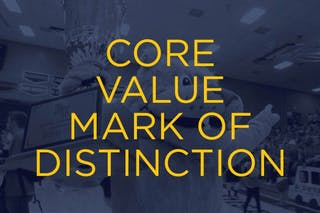 core value mark of distinction