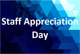 Staff Appreciation Day
