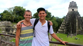 Students in Tikal