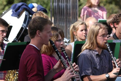 Bethel Band Performs at Arden Hills Fall Festival