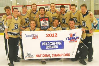 Broomball Team Wins Nationals