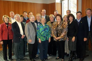 Bethel Hosts CCC Presidents and Spouses