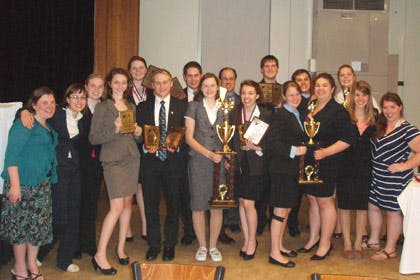 Forensics Team Members Win Eight National Championships