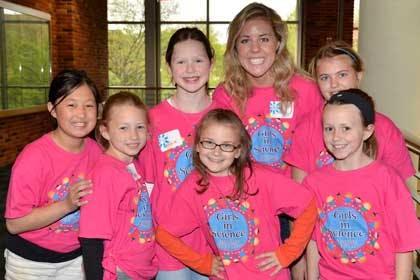 "Local Kids Enjoy ""Girls in Science"" at Bethel"