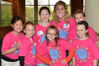 "Local Kids Enjoy ""Girls in Science"" at Bethel"