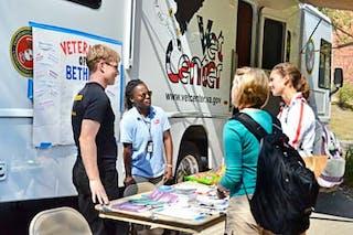 Mobile Veterans Center Visits Bethel