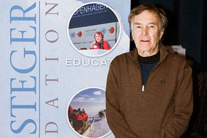 Polar Explorer Visits Bethel
