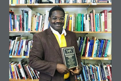 Professor Receives Third World Studies Award