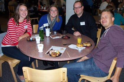 Seminary Community Gathers for Fall Retreat