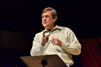 Wess Stafford of Compassion International Visits Bethel