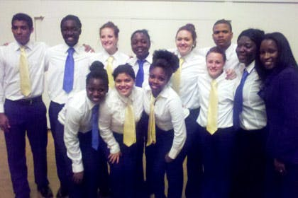 Bethel's Step Team Celebrates Unity
