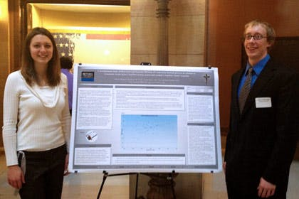 Students Present Research at State Capitol