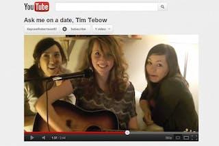 Bethel Alumna's Tim Tebow Video Goes Viral