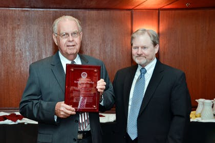 Dick Varberg Named Seminary Alumnus of the Year