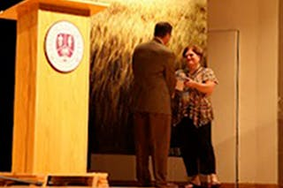 VP for Student Life Honored for Service