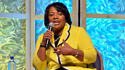 Bernice King Promotes Peace and Forgiveness