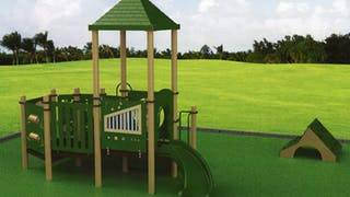 New Playground for Kids at the Campus CDC