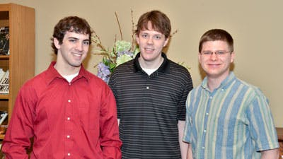 Bethel Team Named Outstanding Winner in International Math Modeling Competition
