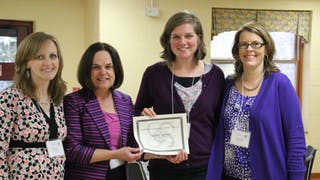 Spanish Major Receives Emerging Scholars' Award