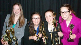 Forensics Team Places at National Tournament