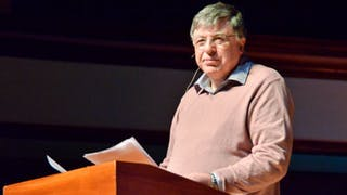 Johnston McMaster Speaks on Reconciliation