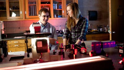 Physics Professor Receives NSF Grant to Take Chemical Images