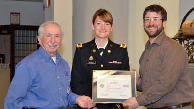 Seminary Assistant Dean Receives Patriot Award