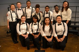 Bethel's Royal Steppers Perform at Diversity Conference