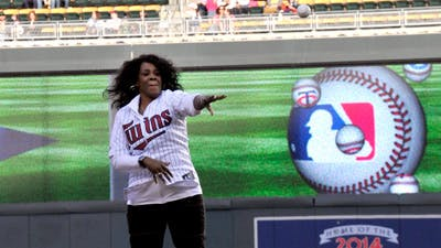 Campus Pastor Throws First Pitch at Twins Game